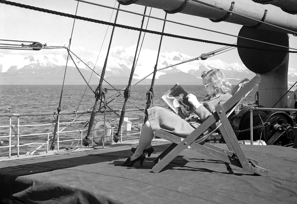 Круизные лайнеры на Аляске
