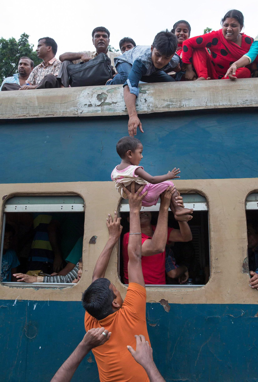 Час пик в Бангладеше