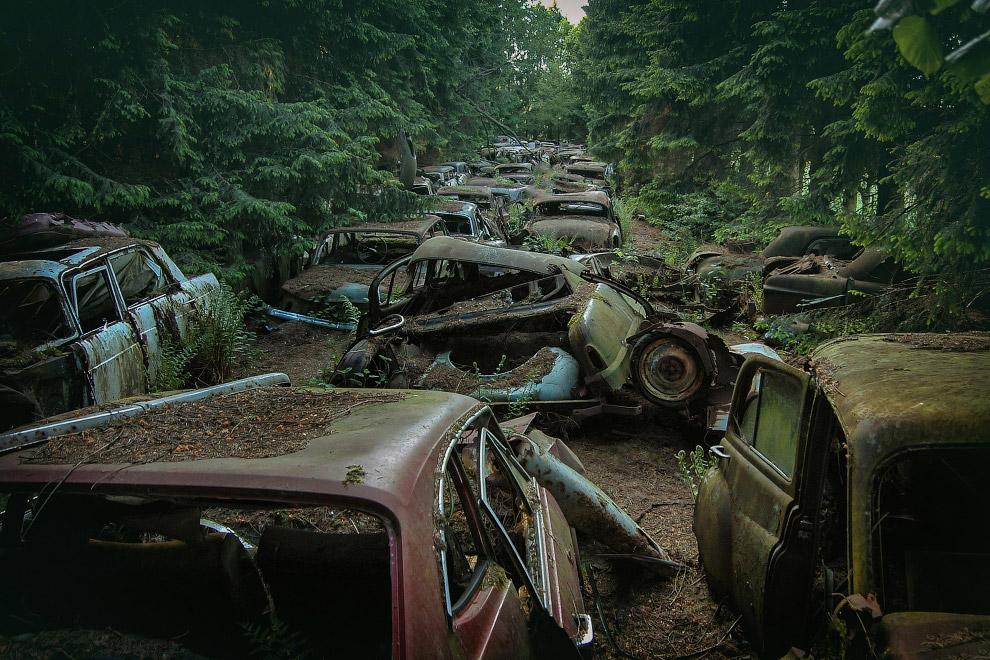 Загробный мир машин где-то в Европе