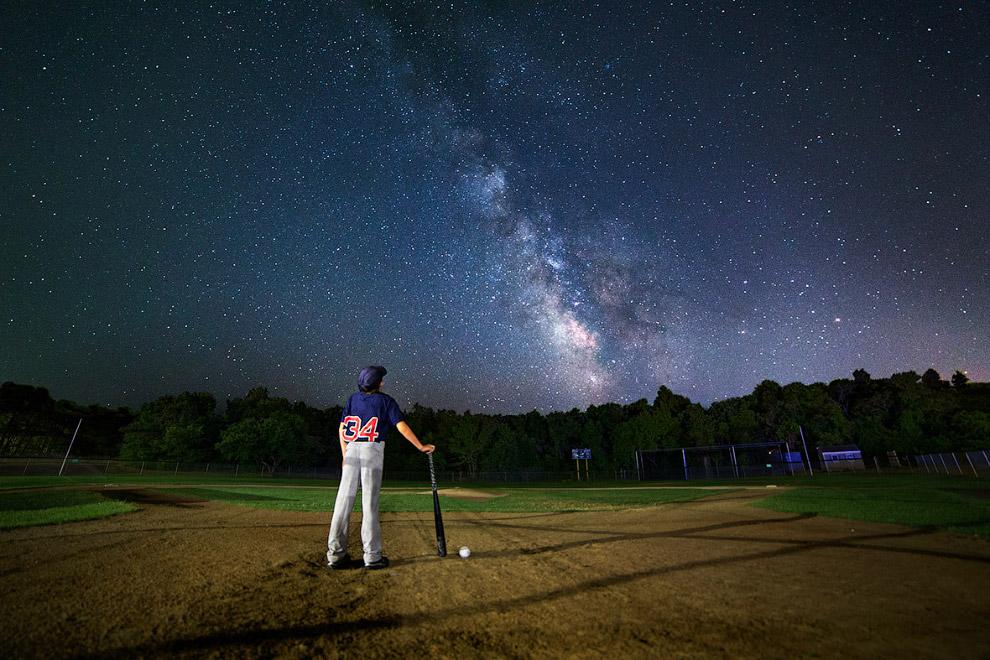 Млечный путь в Харвиче, штат Массачусетс