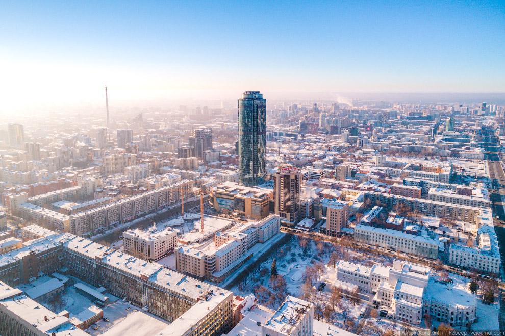 «Восоцкий» был открыт в 2011, его высота 187,6 метров.