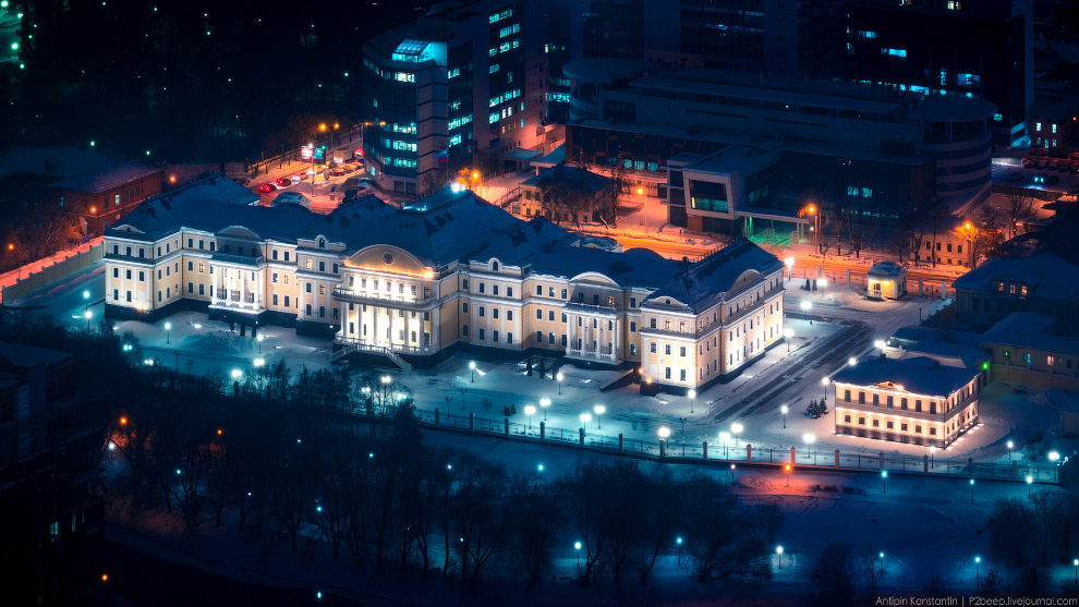 Резиденция полномочного представителя Президента РФ.
