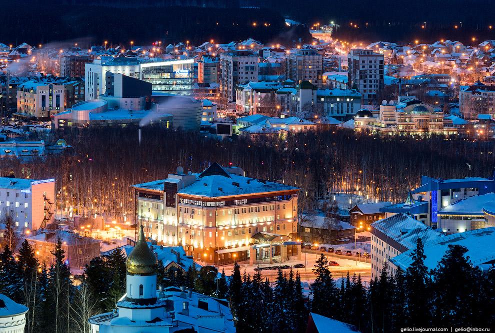 Основной источник бюджета Ханты-Мансийска