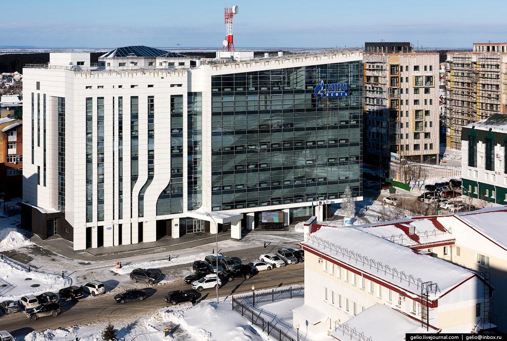 Здание ООО «Газпромнефть-Хантос»