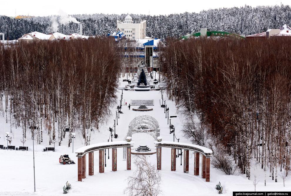 Центральный парк имени Бориса Лосева.