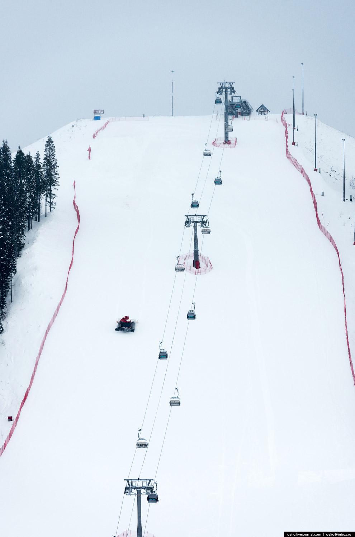В Ханты-Мансийске несколько горнолыжных спусков