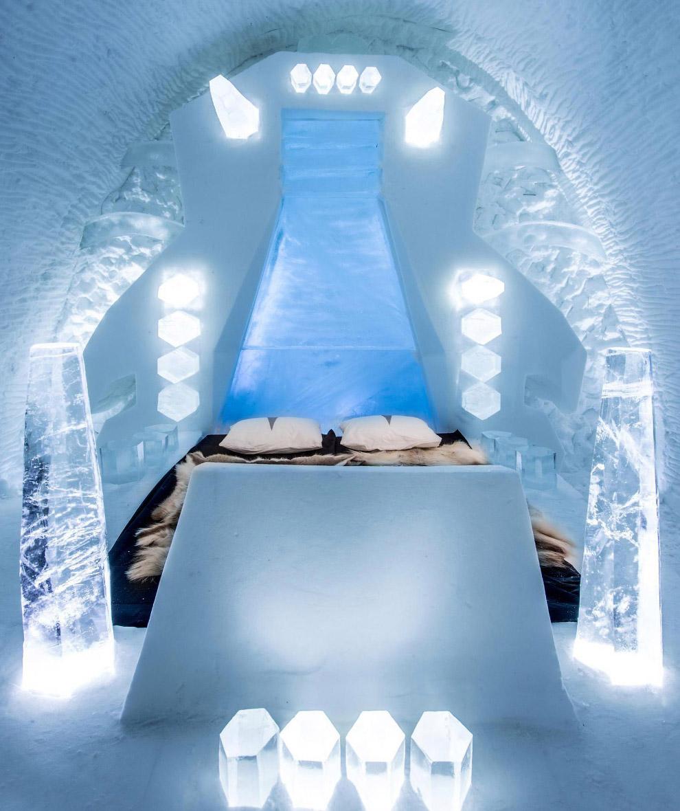 Ледяная спальня