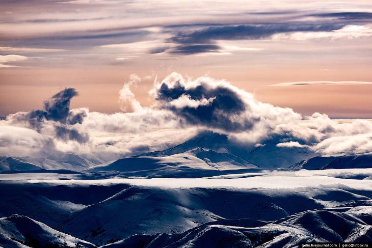 Північ Камчатки з висоти