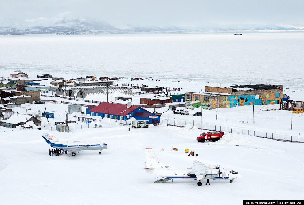 Аэропорт Тиличики расположен недалеко от одноимённого села.