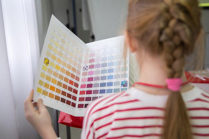 Как делают краски