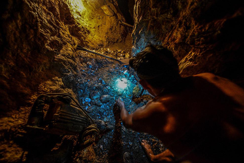 Подземный золотой рудник