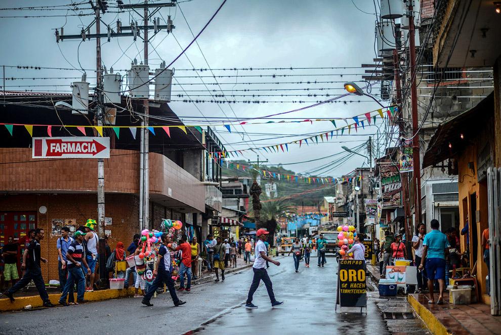 Золотая лихорадка Венесуэлы