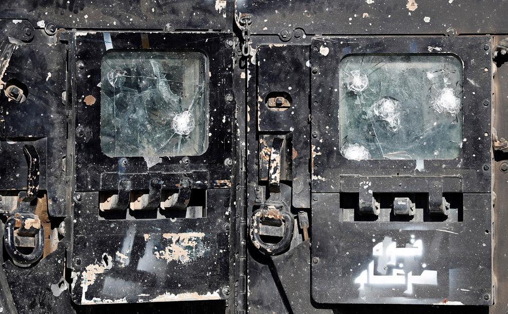 Машина иракских спецназовцев