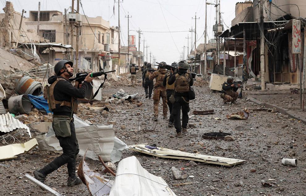 А вот и сами иракские спецназовцы