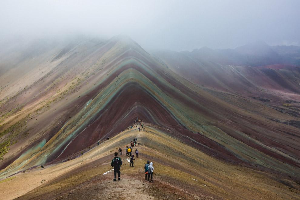 Радужная гора Виникунка