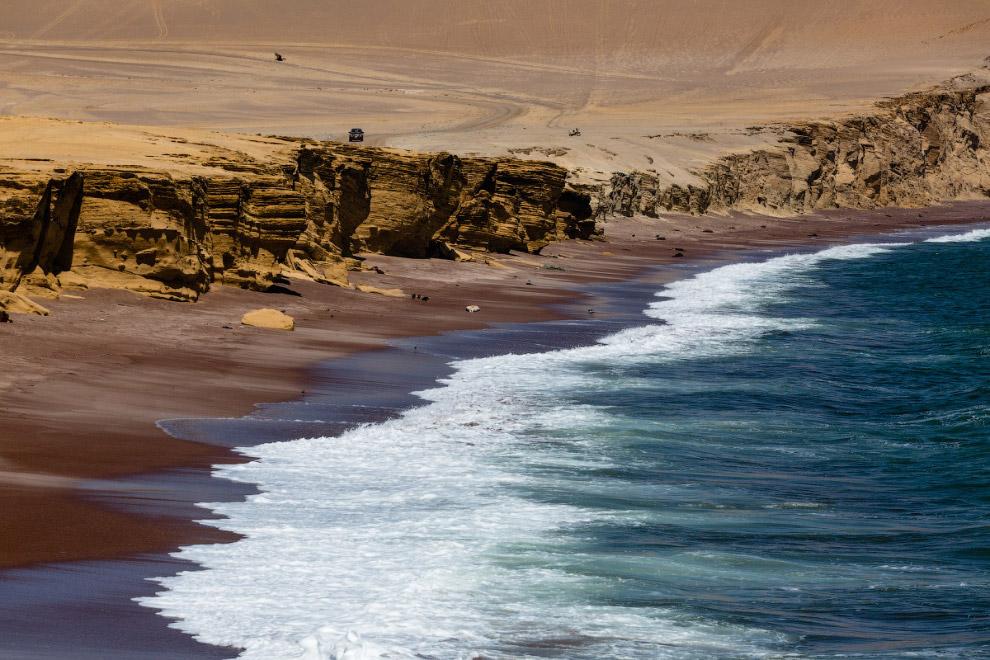 Национальный заповедник пустыни полуострова Паракас
