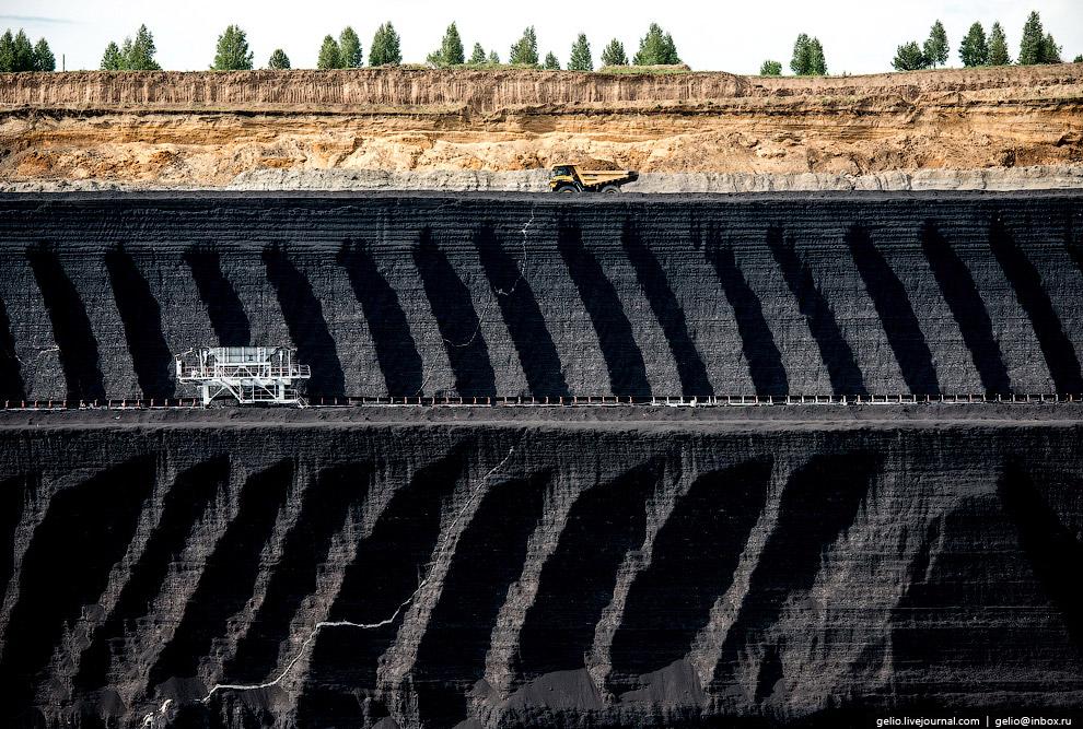 Залежи бурого угля