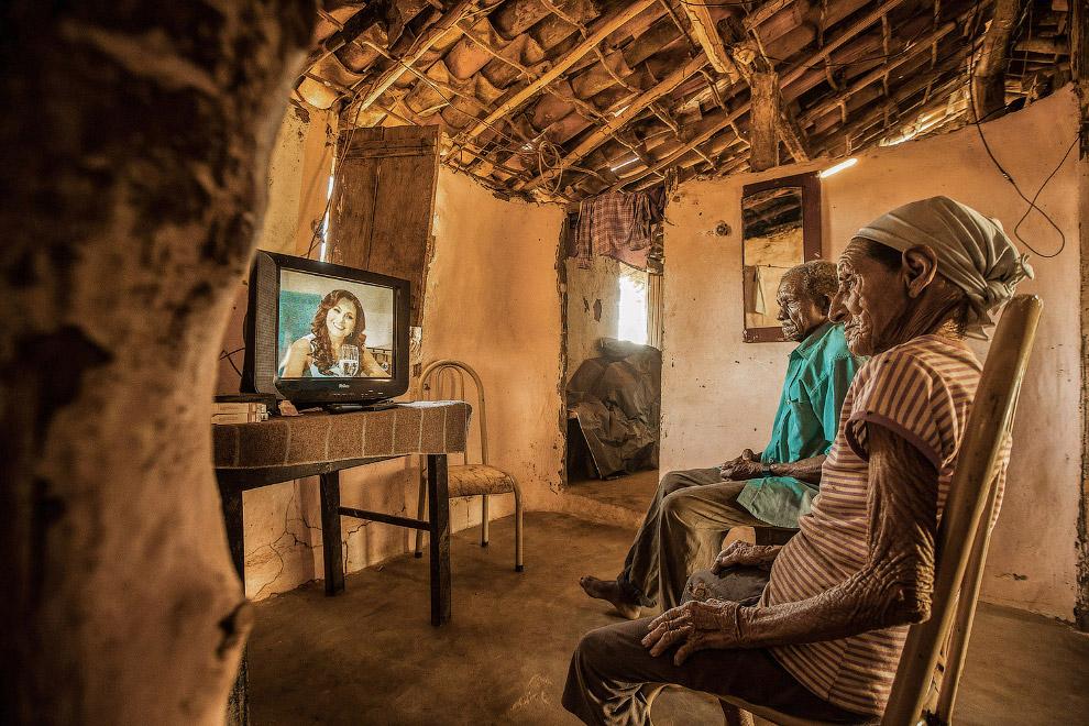 Жизнь простых людей в сельской местности Бразилии