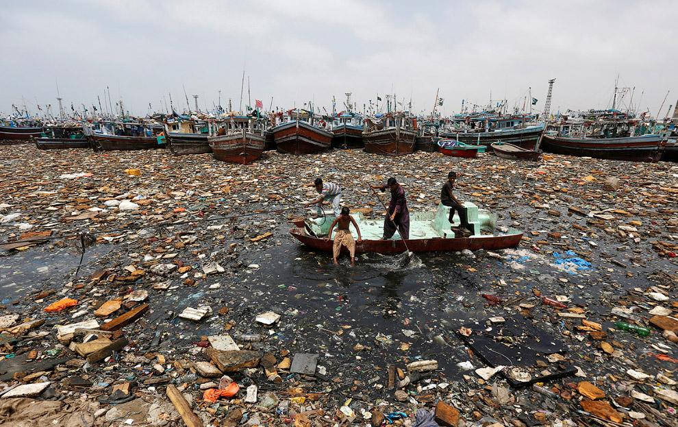 Море в Карачи, Пакистан