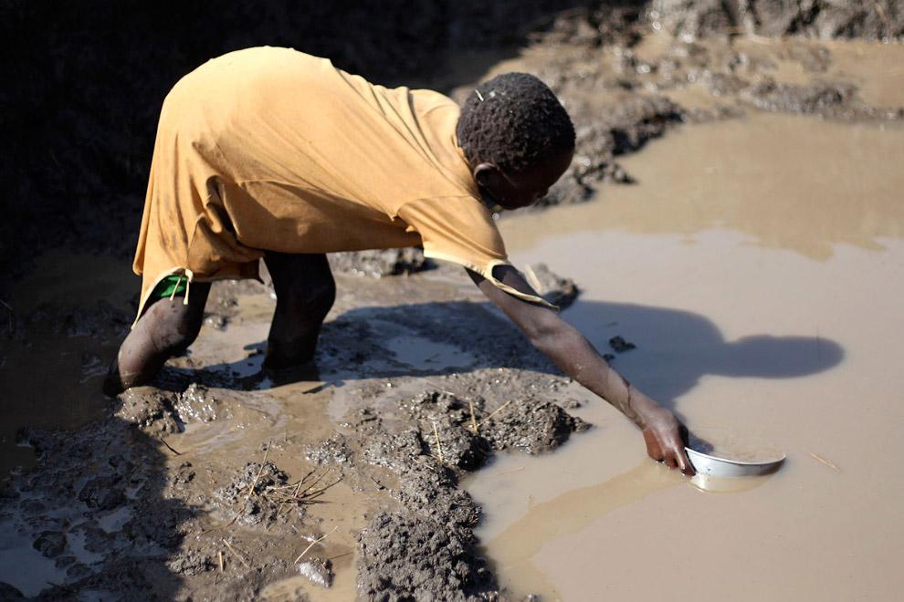 Питьевая водичка из Южного Судана