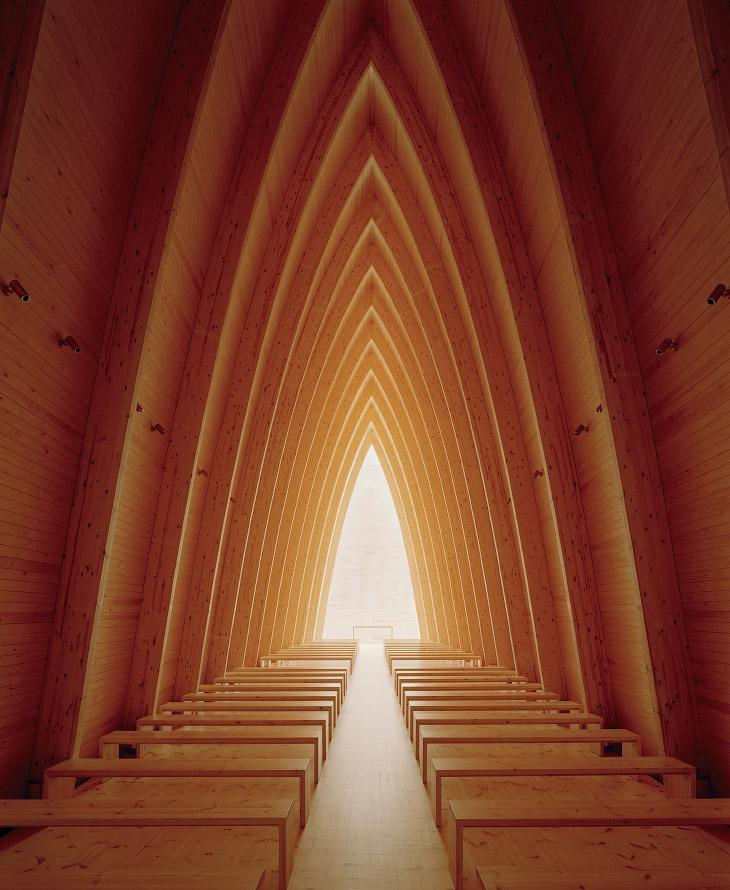 Красивейшая деревянная часовня Святого Генриха, Турку, Финляндия