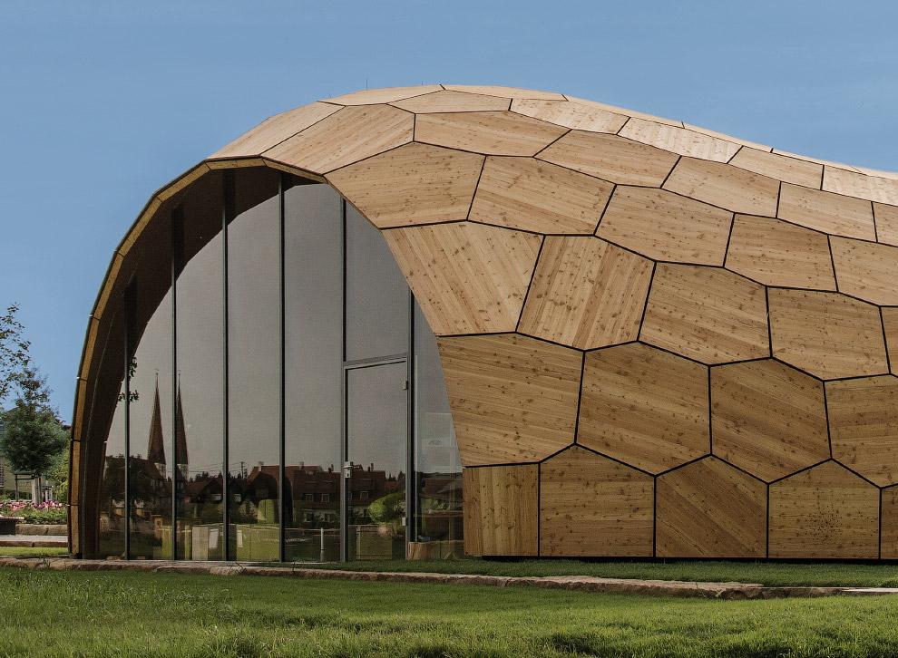 Выставочный зал Landesgarten в городе Швабиш-Гмюнд, Германия
