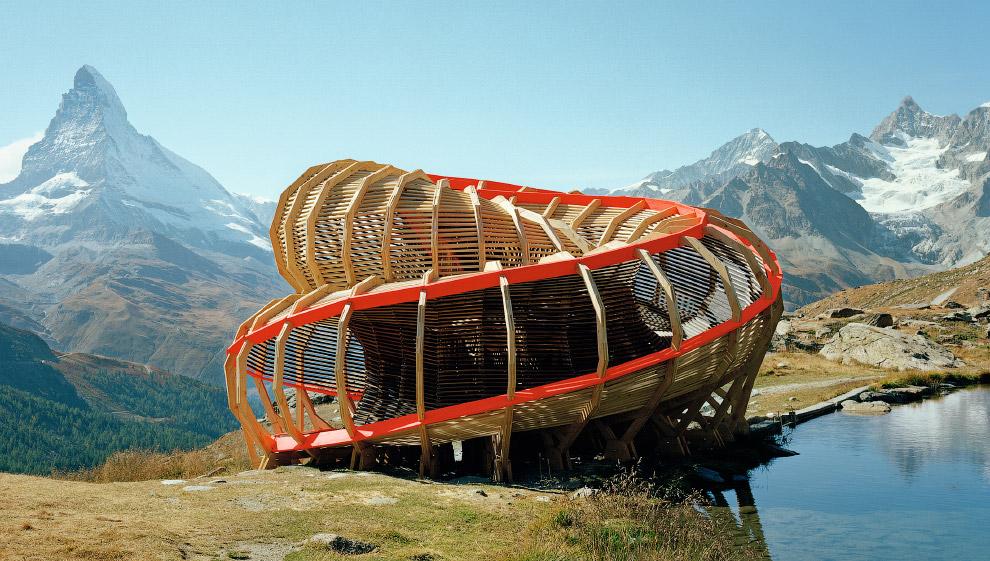 Уникальная смотровая площадка Evolver в Альпах