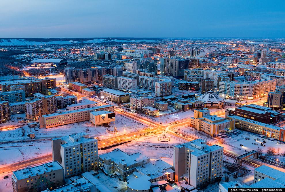 Пересечение улиц Кирова, Пояркова и Ойунского