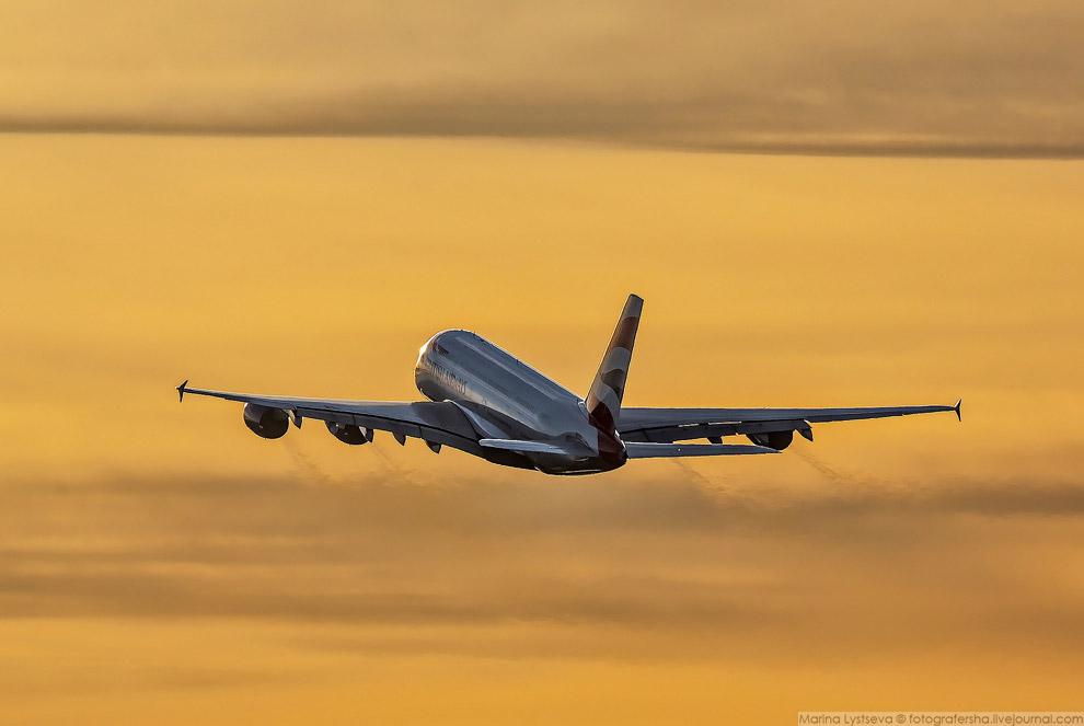 А380 — крупнейший пассажирский самолет