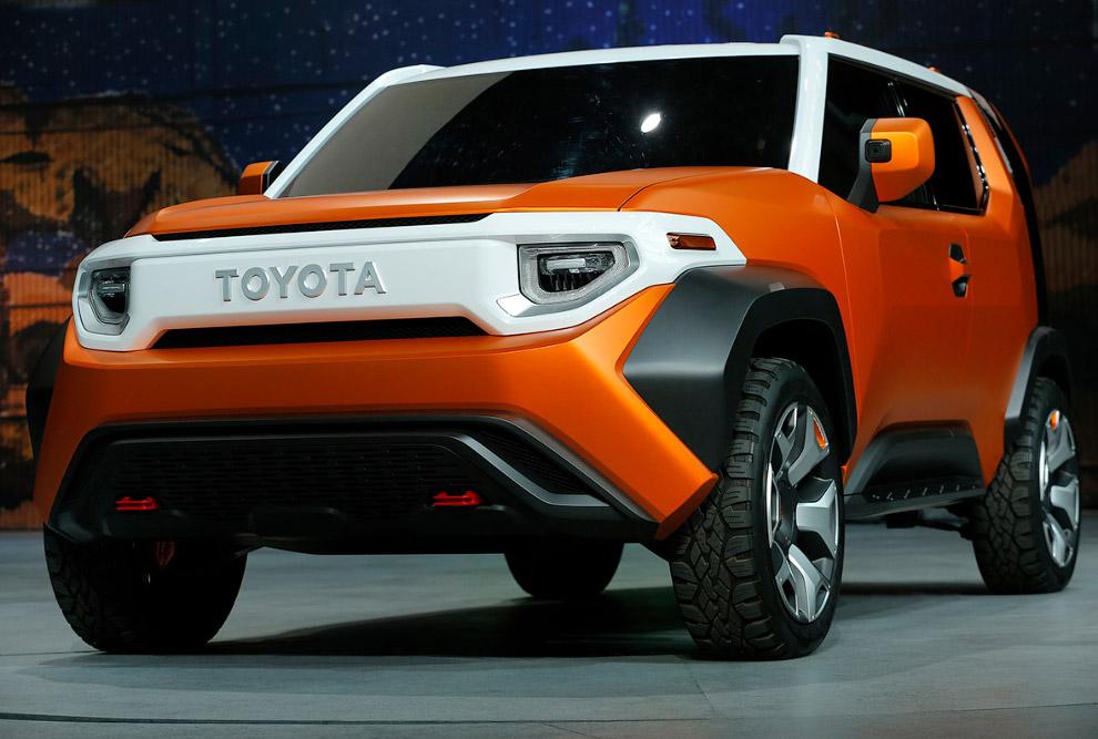 Toyota представила концепткар FT-4X
