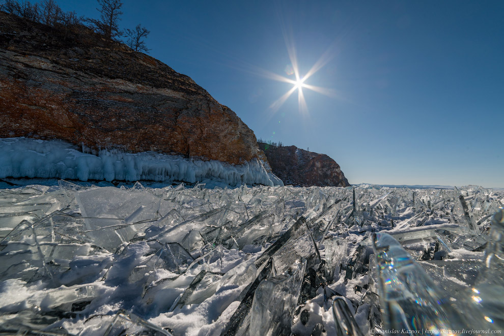 Зимняя сказка Байкала и множество ледяных скульптур