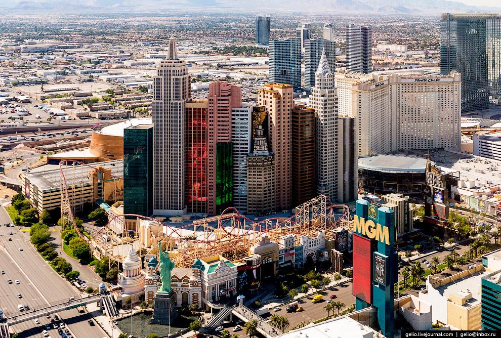 «уголок» Нью-Йорка в Лас-Вегасе