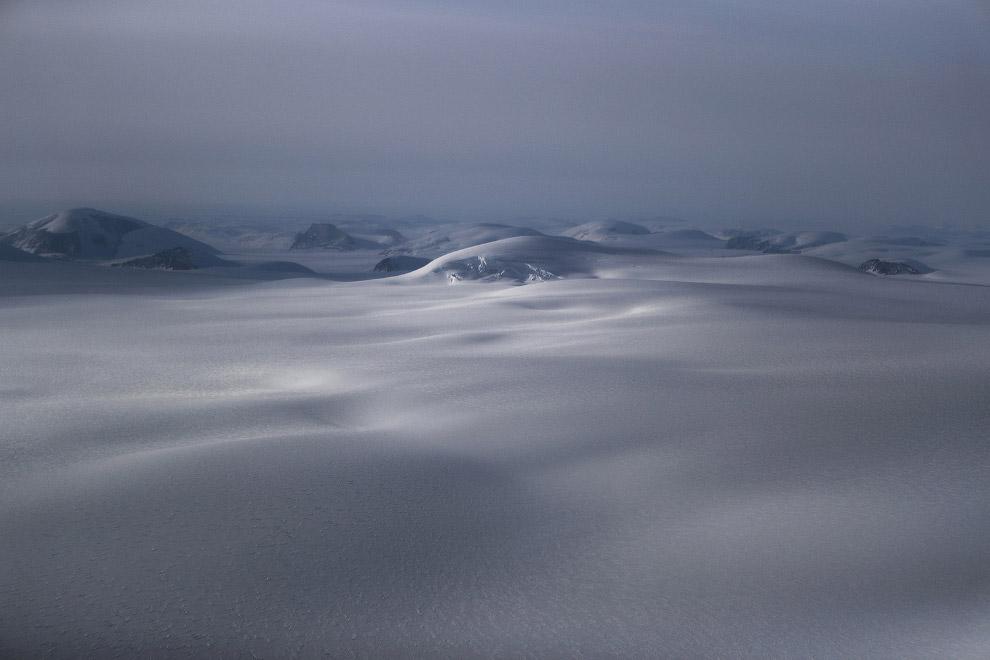 Царство бесконечного льда и снега