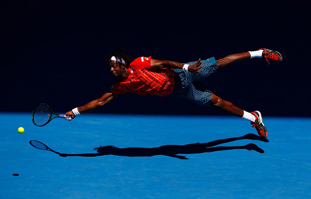 «Супермен» Гаель Монфіс на Відкритому чемпіонаті Австралії з тенісу