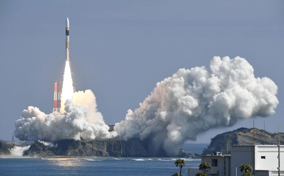 Старт ракеты H-IIA