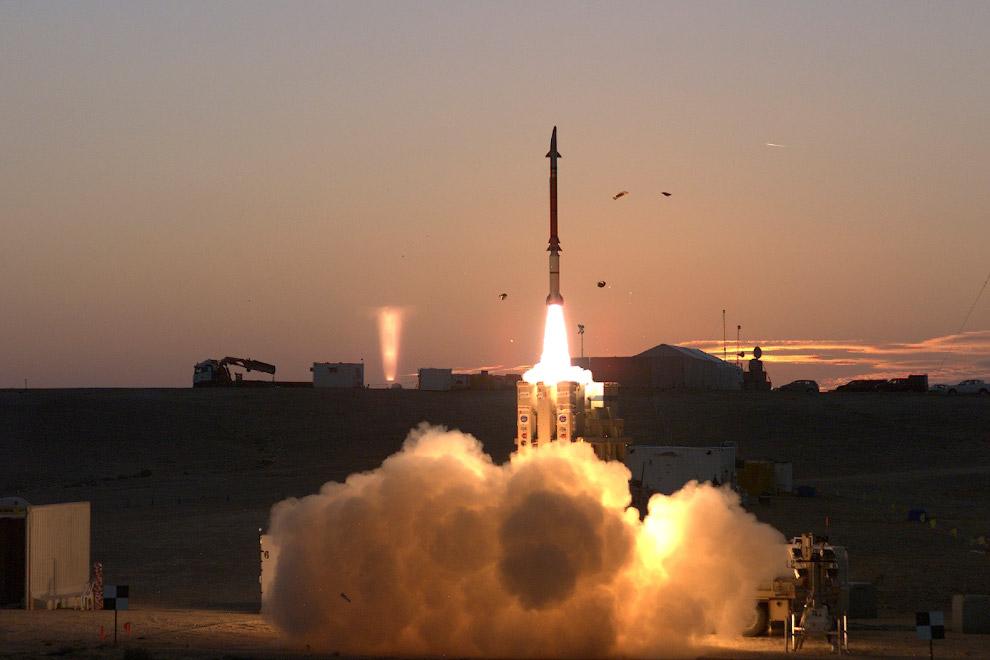 Праща Давида - система противоракетной Армии обороны Израиля