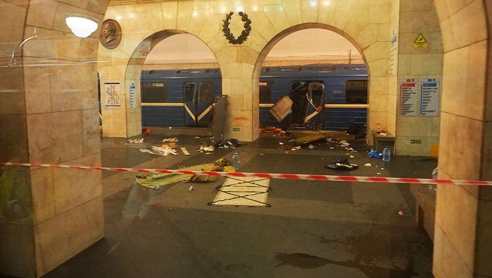 Теракт в метро в Санкт-Петербурге