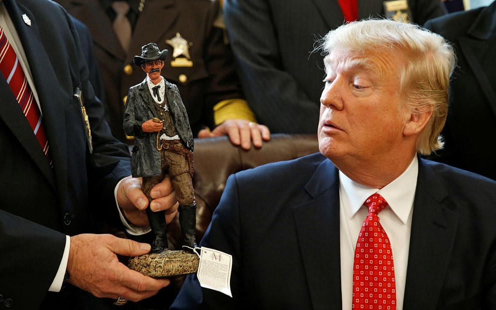 Встреча с шерифами в Белом доме