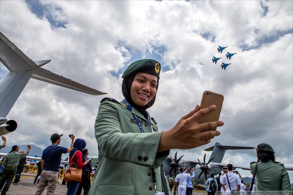 «Русские витязи» на архипелаге Лангкави