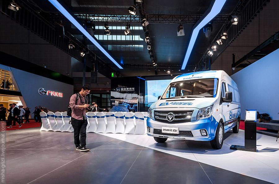 Миниэлектробус Foton Toano (не путать с Mercedes Sprinter)
