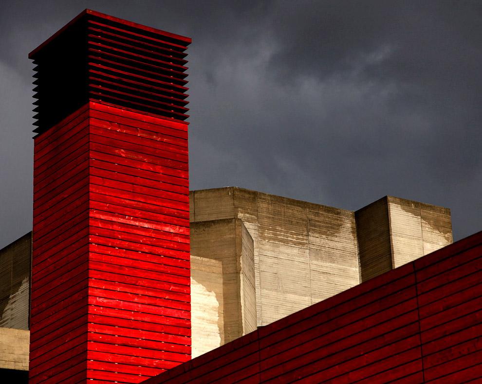 Красная башня, Южный берег, Лондон, Англия