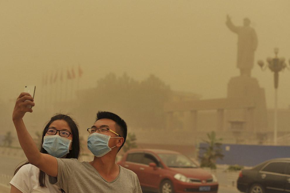 Песчаная буря в Кашгаре