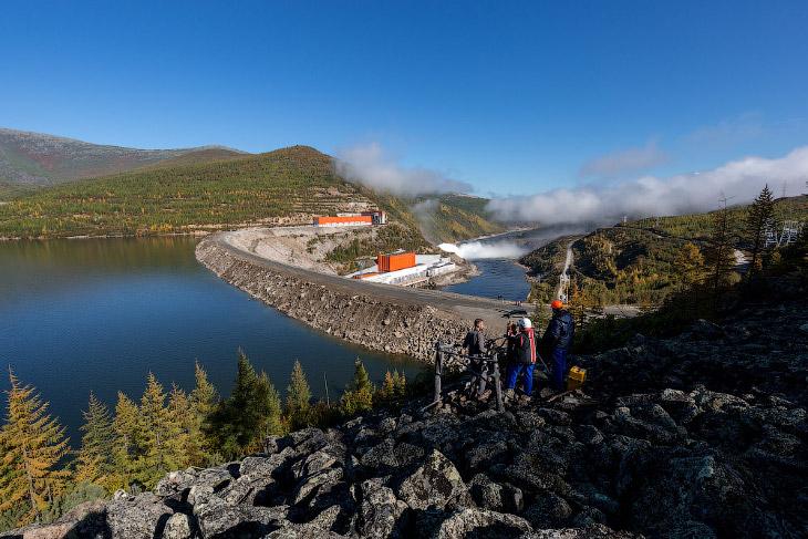 Уникальная Колымская ГЭС