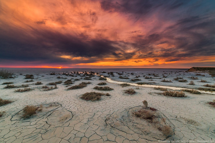 Озеро Эльтон: Марс атакует!