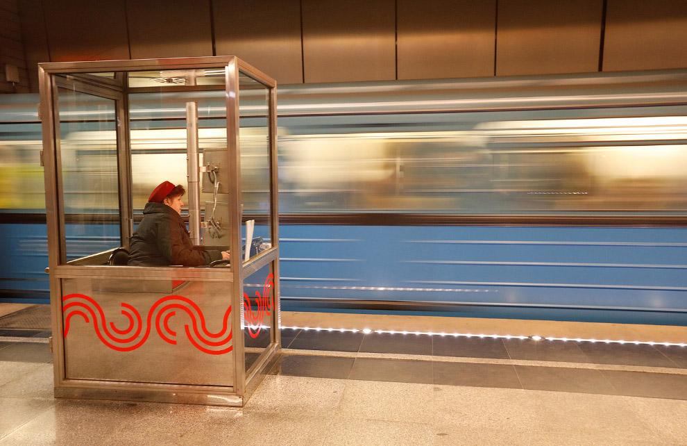 Прогулка по Московскому метро