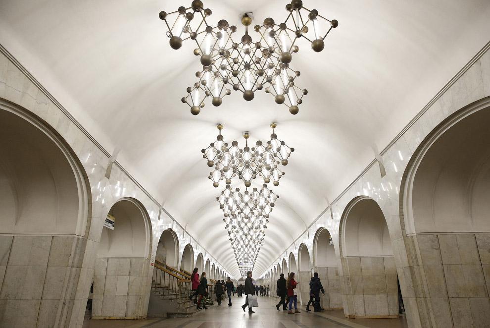 Станция «Менделеевская»