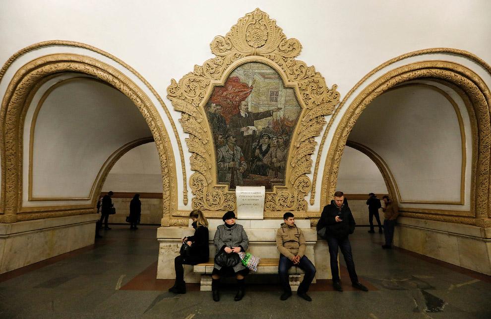 «Киевская» — станция Кольцевой линии