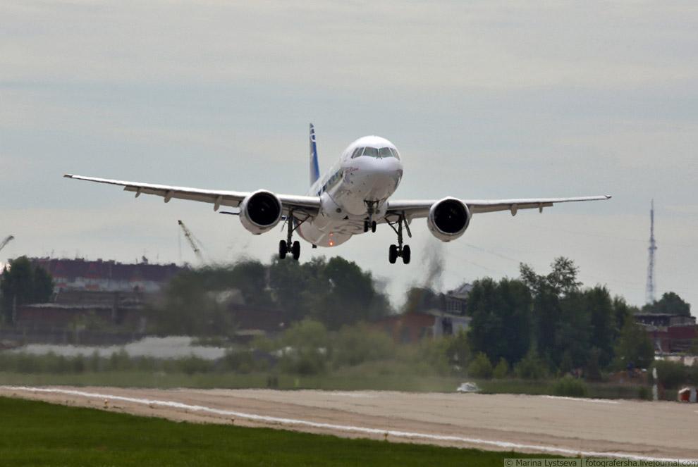 Новый самолет МС-21