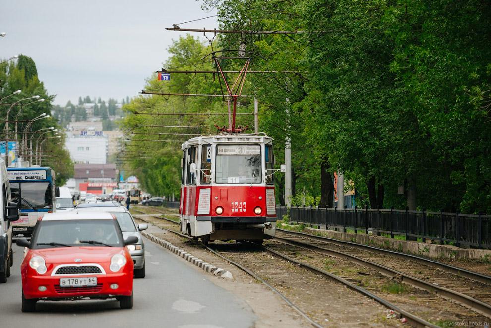 Саратовский трамвай.