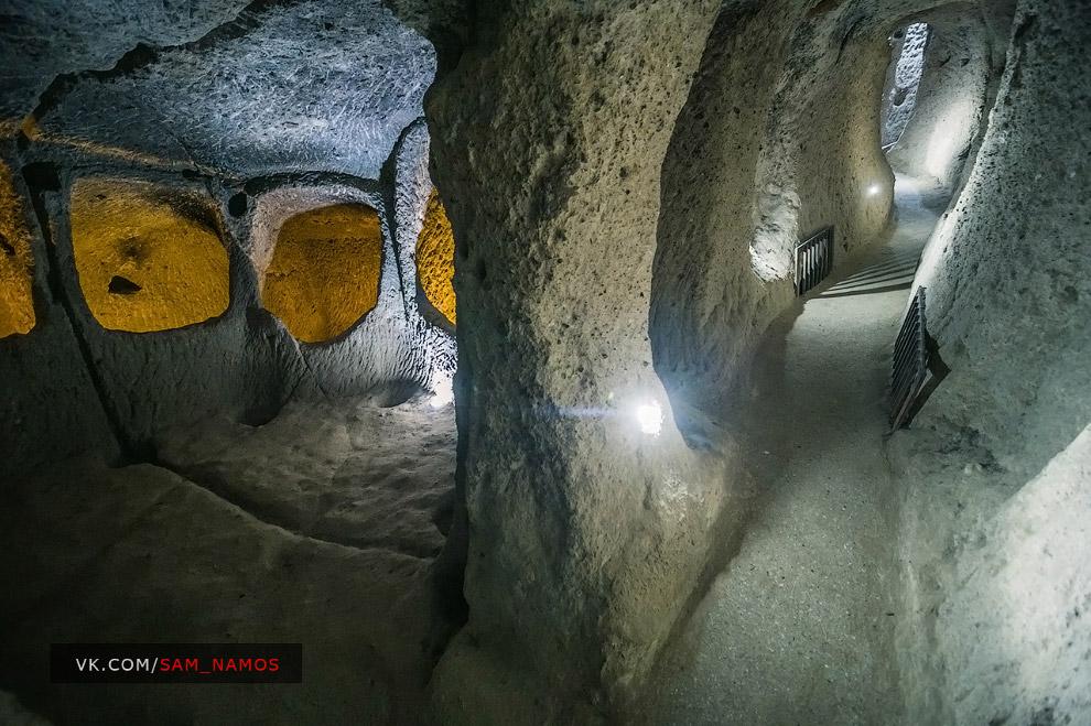 Деринкую - найбільший і найглибший підземне місто Туреччини